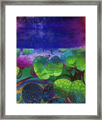 Botanical Elements II Framed Print by Ricki Mountain