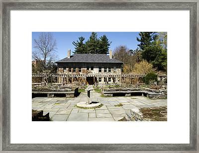 Botanical Garden Landscape Framed Print