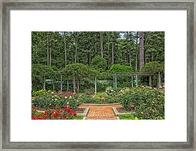 Botanical Gardens - Birmingham Alabama Framed Print by Mountain Dreams