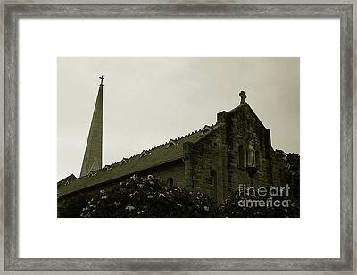 Botanical Gardens Cathedral Framed Print by Cheryl Boutwell