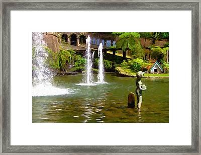 Botanical Gardens Madeira Framed Print by Jon Delorme