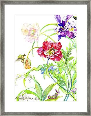 Botanical Print Framed Print
