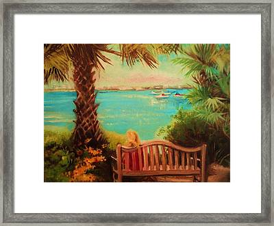 Botanical View Framed Print