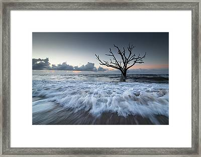Botany Bay Power Framed Print by Serge Skiba