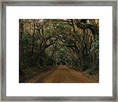 Botany Bay Road Framed Print
