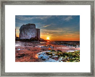 Botany Bay Sunset Framed Print