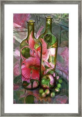 Bottle Art Framed Print