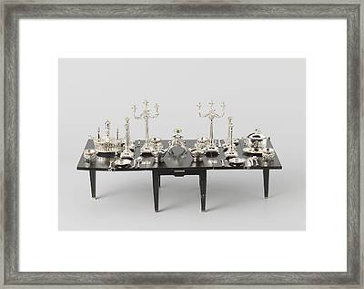 Bottle Etc, Hendrik Duller Framed Print by Quint Lox