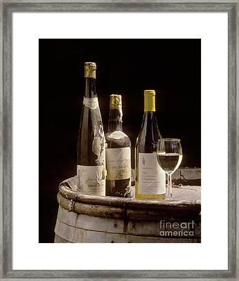 Bottled Chardonnay 1889 Framed Print by Craig Lovell