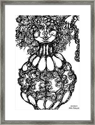 Bottled Lady Framed Print