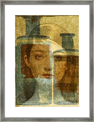 Bottled Up Framed Print by Michael Cinnamond