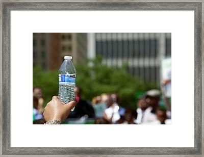 Bottled Water Framed Print by Jim West