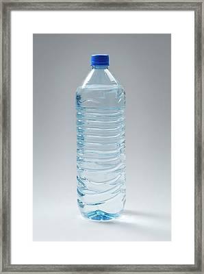Bottled Water Framed Print