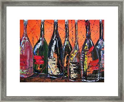 Bottle's Enjoyed Framed Print