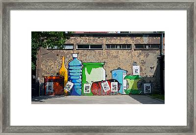 Bottles  Framed Print by Kees Colijn
