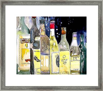 Bottles No 1 Framed Print