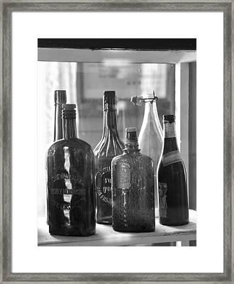 Bottles Of Bodie Framed Print