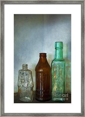 Bottles Framed Print by Svetlana Sewell