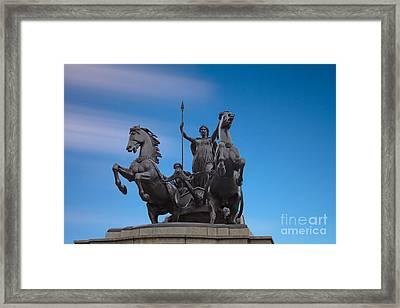 Boudicca Framed Print by Pete Reynolds