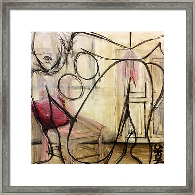 Boudoir Framed Print by Helen Syron