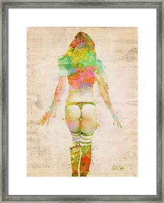 Boudoir Sonata Framed Print