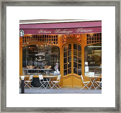 Boulangerie Framed Print by A Morddel