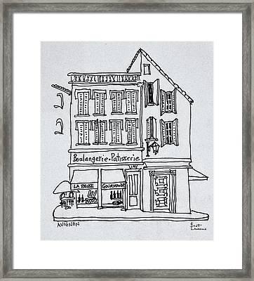 Boulangerie Patisserie, Avignon, France Framed Print