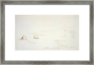 Boulder Bank And Haven Framed Print by British Library
