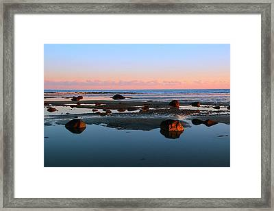 Boulder Beach Framed Print by Andrea Galiffi