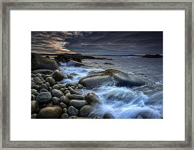 Boulder Beach Dawn Framed Print