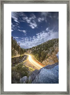 Boulder Canyon Dream Framed Print by James BO  Insogna