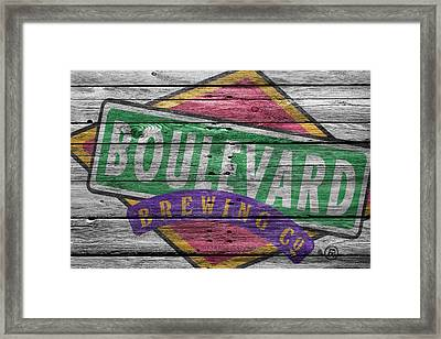 Boulevard Brewing Framed Print by Joe Hamilton