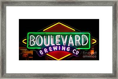 Boulevard Brewing Framed Print