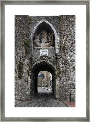Boulogne Castle France Framed Print by Aidan Moran