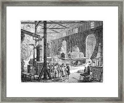 Boulton And Watt's Soho Foundry Framed Print by Science Photo Library