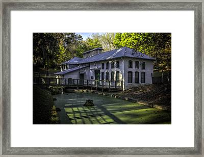 Boulware Springs Water Works Framed Print by Lynn Palmer