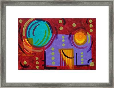Bounce Framed Print