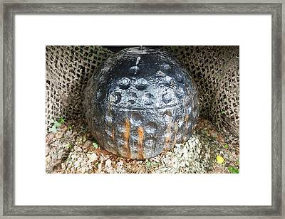 Bouncing Bomb Invented By Barnes Wallace Framed Print by Ashley Cooper