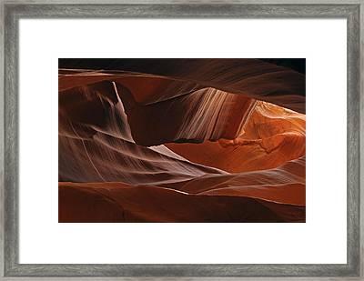 Bouncing Light Framed Print