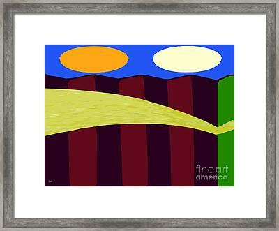 Bouncy Sunshine Framed Print by Patrick J Murphy