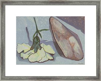 Bound By Difference Framed Print by Richard Glen Smith