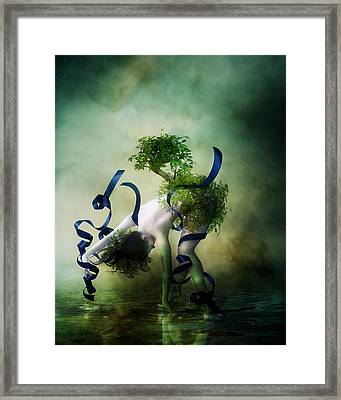 Bound By Nature Framed Print by Mary Hood