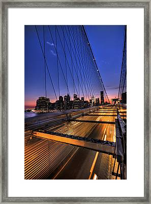Bound For Greatness Framed Print