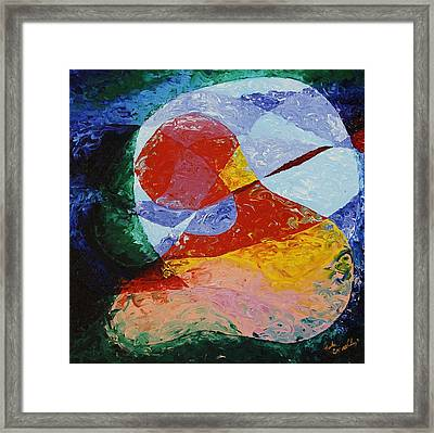 Bound Framed Print by Lola Connelly