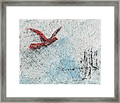 Bound To Fly Framed Print