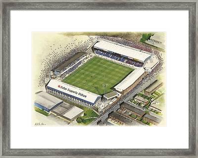 Boundary Park - Oldham Athletic Framed Print