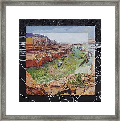 Boundary Series Vi Framed Print