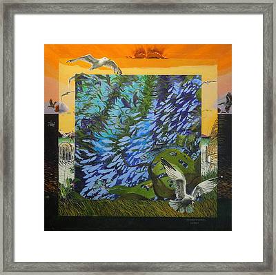 Boundary Series Viii Framed Print