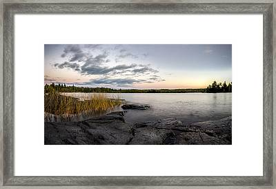 Boundary Waters // Bwca, Minnesota Framed Print