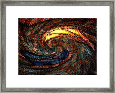 Boundless Framed Print by Louis Ferreira